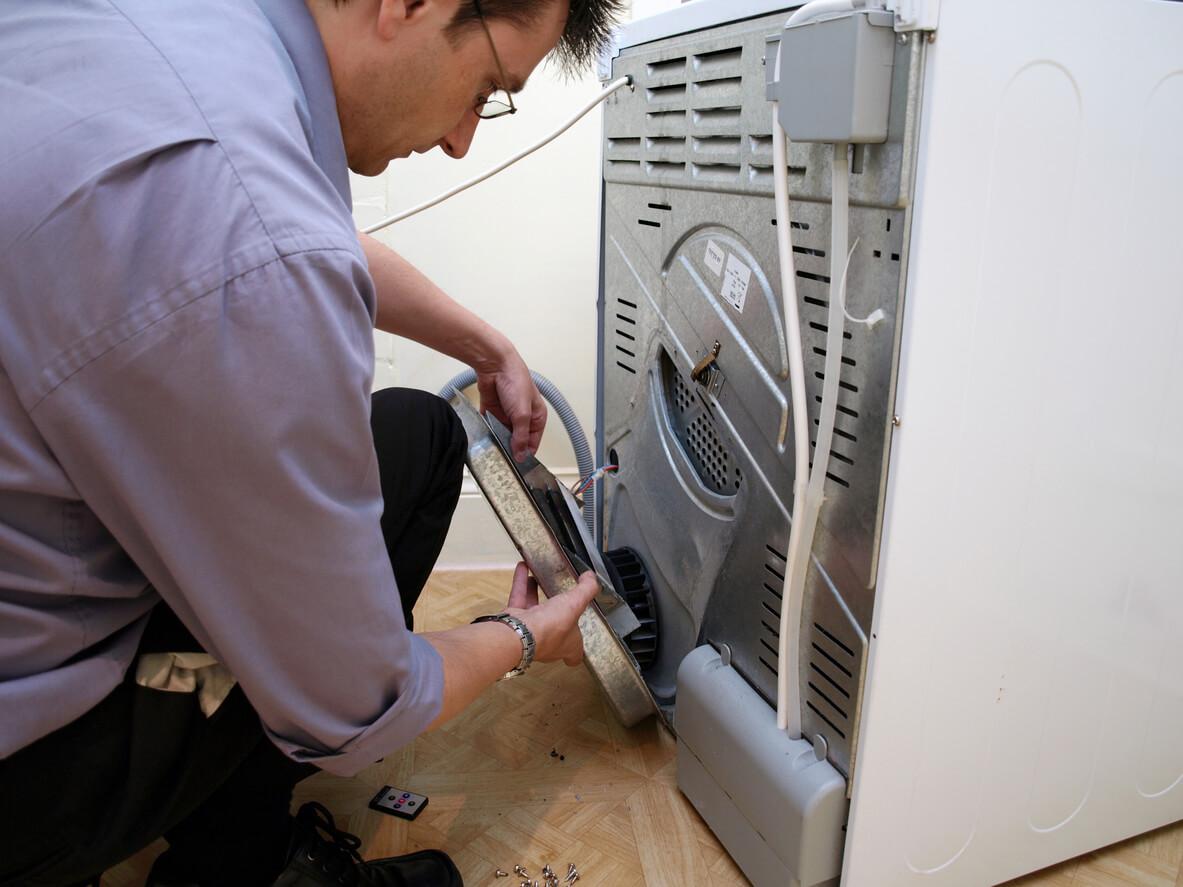 repairing a dryer
